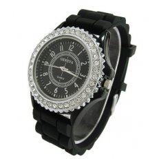 Geneva Crystal Diamond Watch