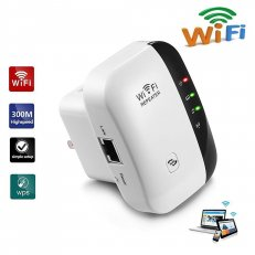 Smart Wireless Wi-Fi Signal-Boosting Repeater