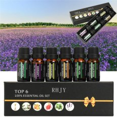 TOP 6 PACK ESSENTIAL OILS 10ML !