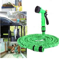 Expandable Garden Hose With 7 Mode Spray Gun - 25, 50 or 75FT !