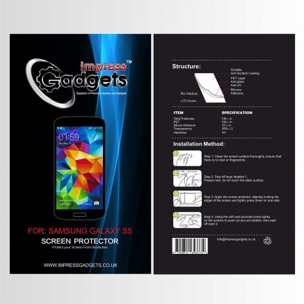 Impress Gadgets Mobile Phone Screen Protector