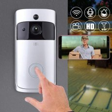 WiFi Security Video Doorbell With Night Vision - 2 Colours