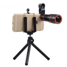 20 x Optical Zoom Lens For Smartphone With Tripod