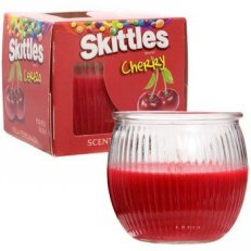 SKITTLES Cherry Scented Candle 3oz