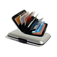 2 x Pocket-size Alluminium credit card holder